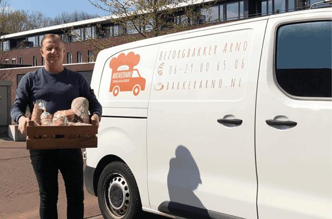 Bezorgbakker Arno Hultermans
