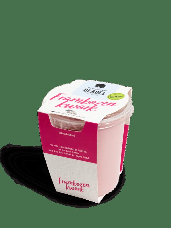 Frambozen Kwark - Kwark van de boer - Brabant - De smaak van hier