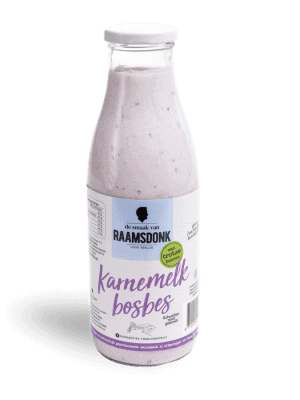 Karnemelk Bosbes - Karnemelk van de boer - Brabant - De smaak van hier