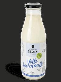 Melk in glazen fles Brabant