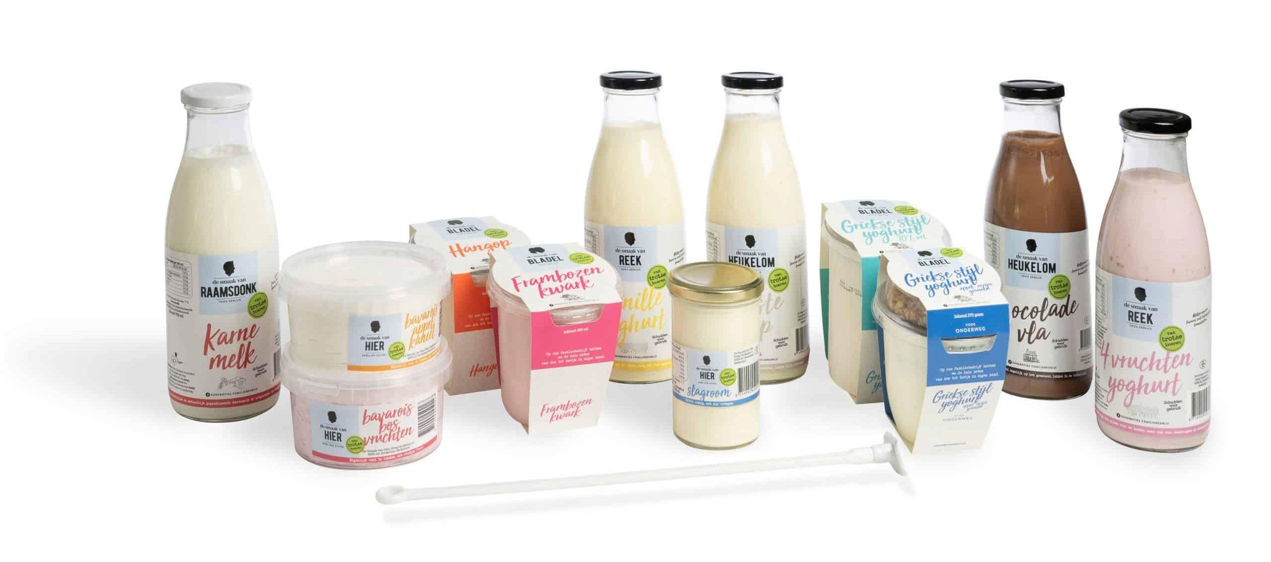 Producten De smaak van hier Brabant Zuivelproducten