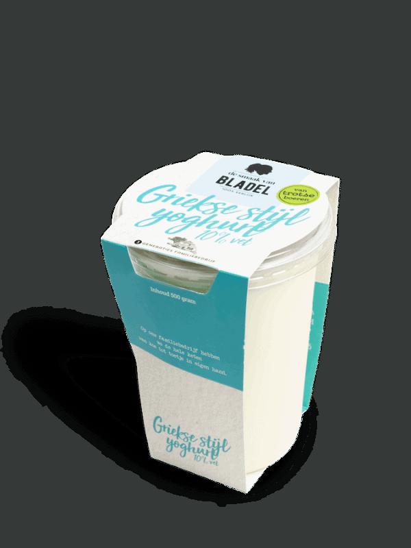 Yoghurt Griekse Stijl 10% vet - Yoghurt van de boer - Brabant - De smaak van hier